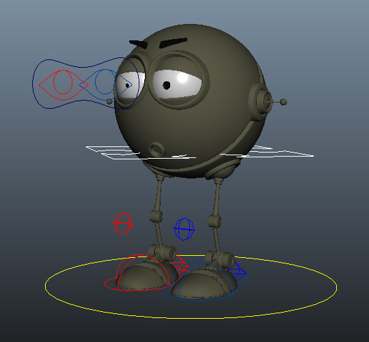 Free Maya Rigs, Ready for Animation | Truong's blog