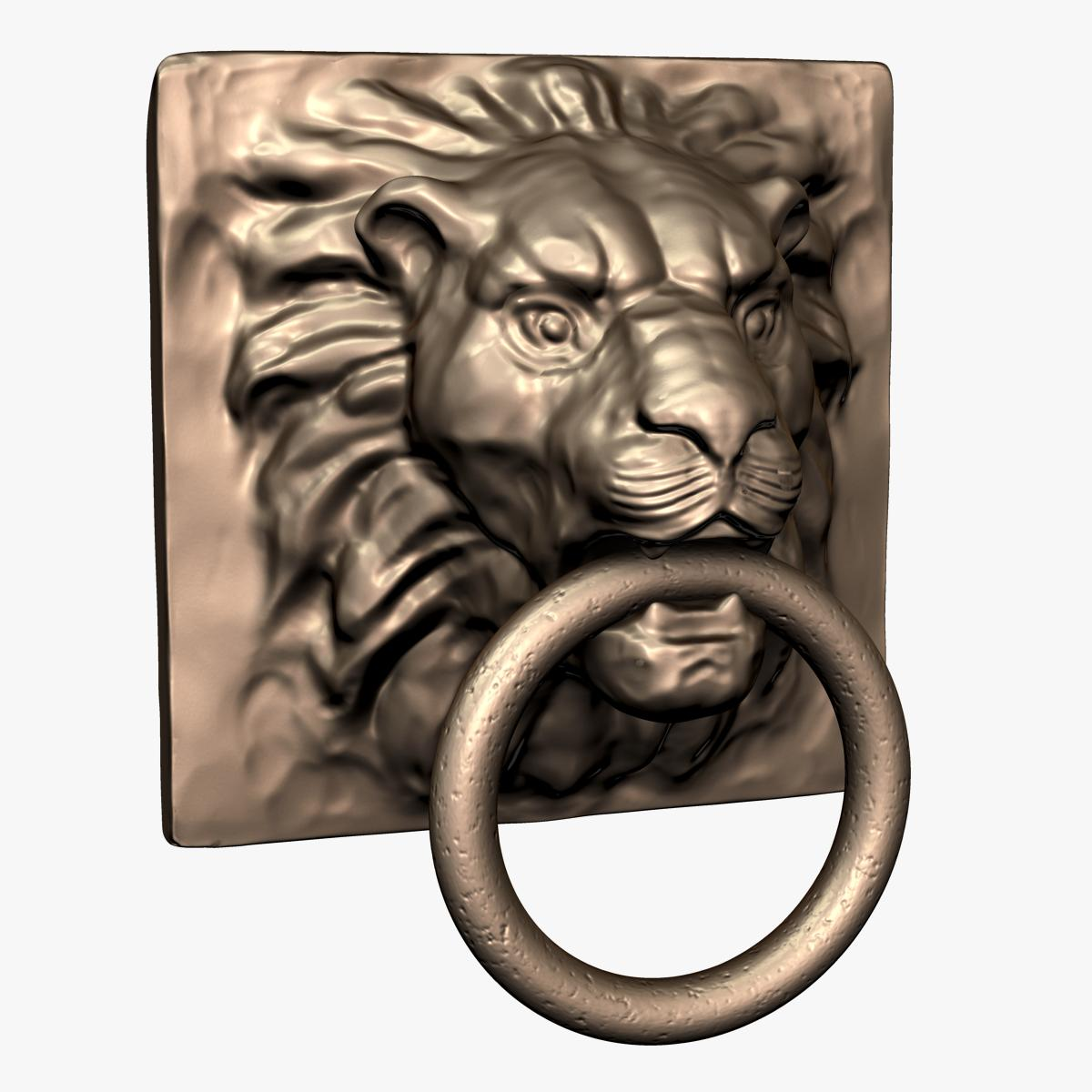 Bronze truong 39 s blog - Lion face door knocker ...