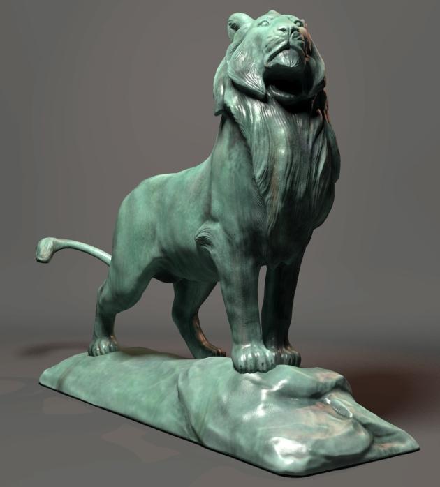 cvbtruong_Lion_statue_2013
