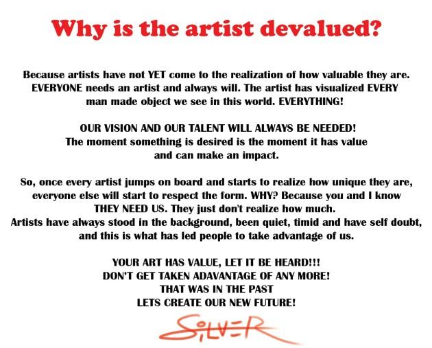 devalued art