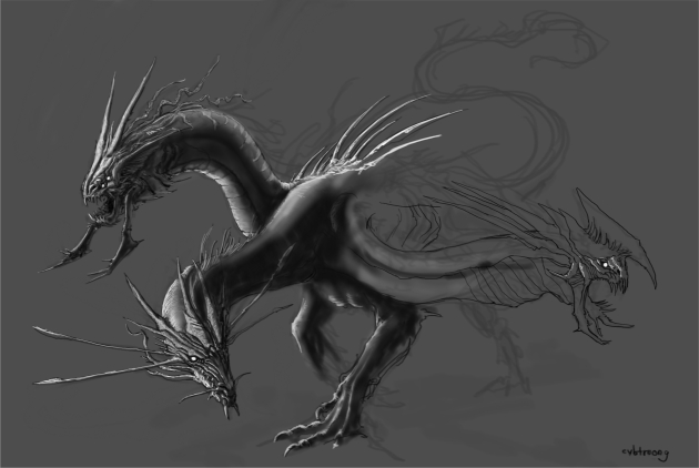 cvbtruong_3headsDragon_wip