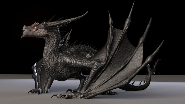 dragon_maya_rig_TruongCGArtist